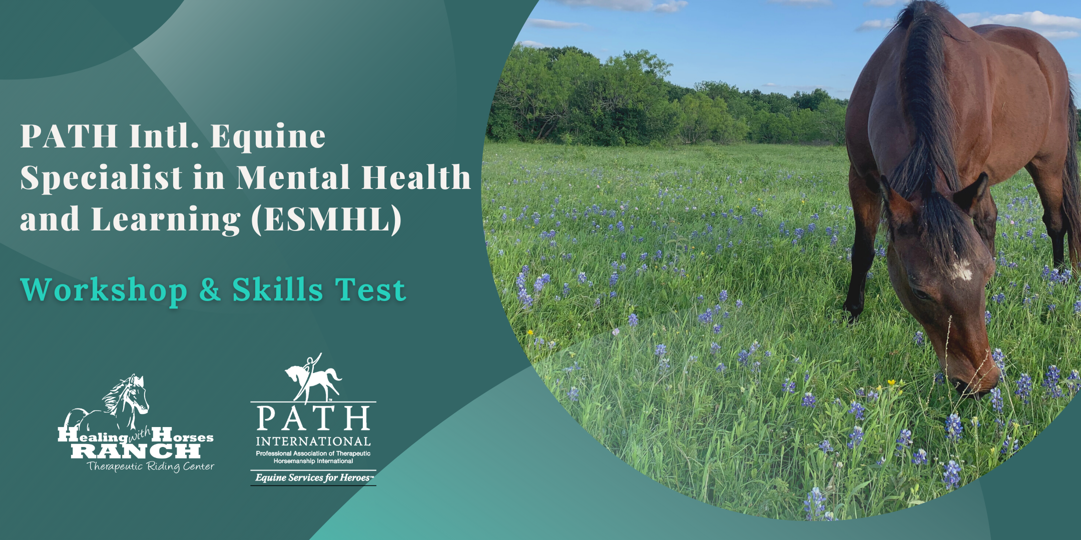PATH Intl Equine Specialist in Mental Health and Learning Workshop & Test