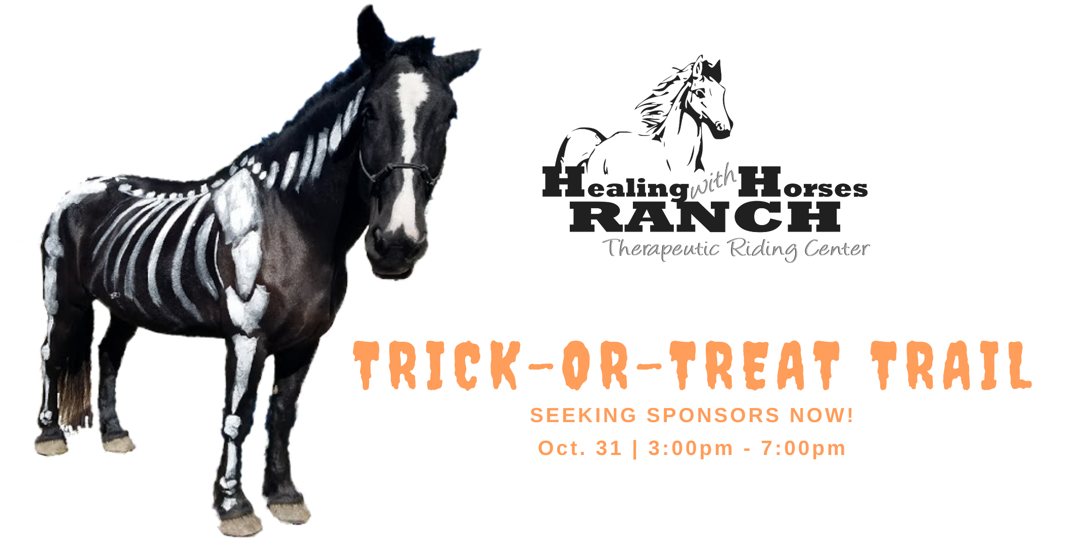 Trick or Treat Trail hosted by Healing with Horses Ranch